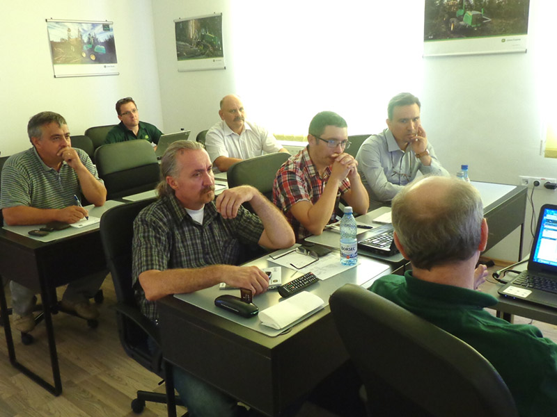Elmas Regional Center – John Deere Forestry, August 2014