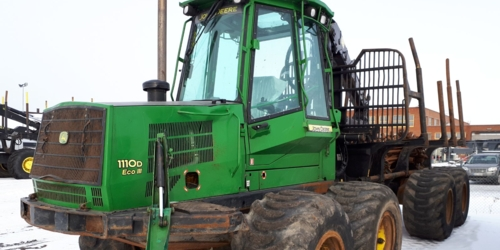 Forwarder John Deere 1110D